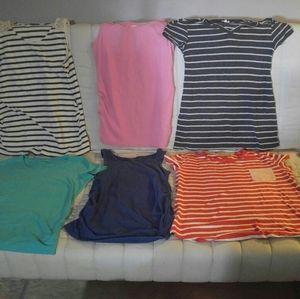 6 Maternity t shirts